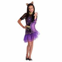 Fantasia Infantil Luxo Monster High - Clawdeen Wolf - Tam .m