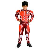 Fantasia Battle Force 5 Infantil Com Músculos Hot Wheels Sul