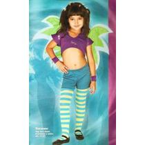 Fantasia Taranee M 6 A 8 Anos Infantil Witch Carnaval Bruxa