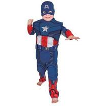 Vingadores Fantasia Capitão América Longa G - Rubies 881316