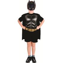 Fantasia Batman Infantil Pop Completa Cavaleiro Das Trevas