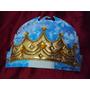Coroa De Tecido Com Elástico Rei Príncipe Pronta Entrega