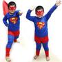 Fantasia Infantil Super Homem Superman