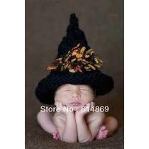 Chapeu Bruxa De Croche Para Fotos De Bebe