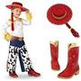 Bota + Chapeu Jessie Toy Story Disney Fantasia Jessi 25 26