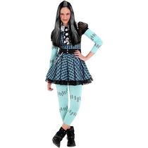 Fantasia Luxo Infantil Barbie Monster High Frankie Stein