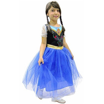 Fantasia Infantil Frozen Princesa Anna Rubies Standard