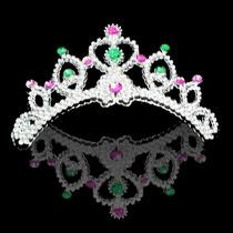 Kit Tiara Presilha 50 Unid Princesa Festa Fantasia Carnaval