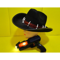 Cowboys & Aliens Chapeu E Arma Laser Rotativa Eletronica