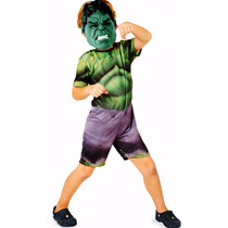 Fantasia Infantil Vingadores Marvel Rubies Hulk