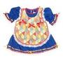 Vestido Caipira Azul Baby