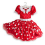 Fantasia Minnie Mouse Disney Vestido 3 A 4 Anos Mine Oficial