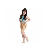 Fantasia Monster High Cleo De Nile Pop Gg - Sulamericana
