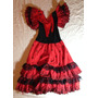 Fantasia De Espanhola Infantil Original Da Espanha Vestido
