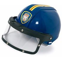 Capacete Policial Infantil Polícia Brinquedo Fantasia Police