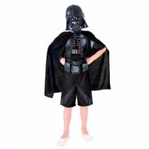 Fantasia Star Wars Darth Vader Curto - Linha Masquerade
