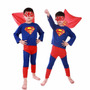 Fantasia Infantil Super - Homem Importada - Pronta Entrega