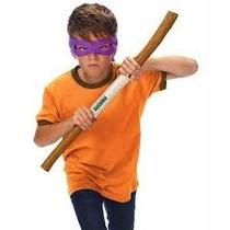Kit Fantasia Infantil Tartarugas Ninjas Donatello Multikids