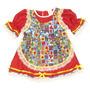 Vestido Caipira Vermelho Baby