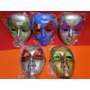 Kit Com 05 Mascaras Veneza Festa Fantasia Carnaval