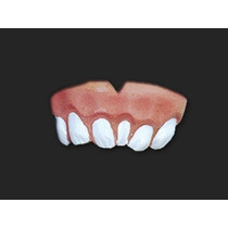 Dentadura Dente Torto - Divertida E Engraçada