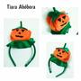 Tiara Halloween Abobora Cosplay Enfeite De Cabeça Fantasia