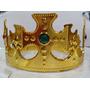 Coroa Rei Regulável Dourada Príncipe Festa Cosplay