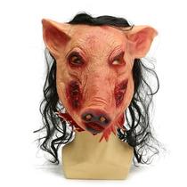 Halloween ?? Máscara Jogos Mortais Jigsaw Pig - Frete Grátis