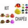 Kit C/ 50 Chapéu Coquinho - Festa, Aniversário- Frete Grátis