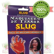 Maquiagem De Terror Kit Mágico Slug Festa Fantasia Halloween