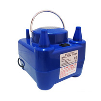 Inflador Elétrico Para Balões 2 Bicos 750w Compressor Bexiga