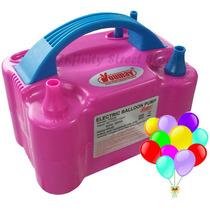 Inflador Bomba Balões Bexigas - Original - C/ 2 Bicos 110v