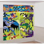Kit Decoração Festa Infantil Com Painel Batman