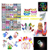 Kit Formatura C/neon,piscas,chapéus,mascaras,óculos,tiaras.