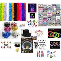300puls.neon+20 Piscas+40 Óculos+30 Marabus+frete+kit Noivos