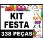 Kit Festa Casamento Adereços 150 Pessoas Formatura + Brindes