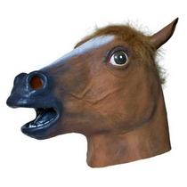 Máscara De Cavalo Head Horse Látex - Original Pronta Entrega