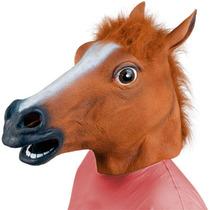 Cabeça De Cavalo Mascara Horse Mask Fantasia Cosplay - Latex