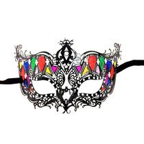 Mascara Veneziana,baile De Mascaras,veneza,carnaval,metal