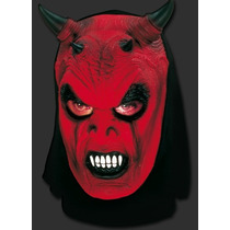 Máscara Diabo Capeta Demônio - Carnaval Halloween Terror