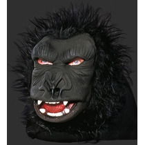 Máscara De Gorila Com Pêlos - Terror E Carnaval