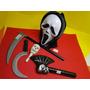 Halloween Fantasia Panico Mascara Dia Das Bruxas Machadão