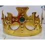 Coroa Rei Rainha Plástica Ajustável Festa Fantasia Cosplay
