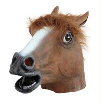 Máscara De Cavalo Creepy Horse Mask Pronta Entrega Brasil
