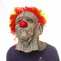 Máscara De Palhaço Triste Assustador Terror Medo - Em Latex
