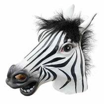 Cabeça De Zebra Máscara Cosplay Fantasia (frete Gratis)