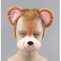 Macaco Costume - Headband Máscara Ouvidos E Bom Som Fancy D