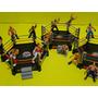 03 Arenas Ufc E Doze Lutadores Luta Livre Tatame Ringue Box