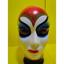 Mascara Multi Colorida Carnaval Veneza Vermelha