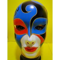 Mascara Multi Colorida Carnaval Veneza Tatuada